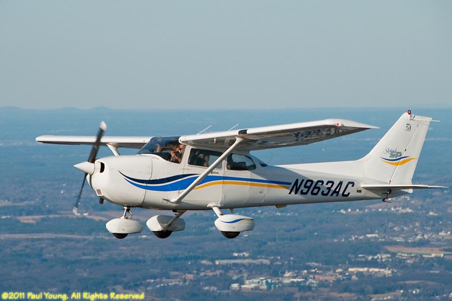 Aerial Photo Gallery: Cessna N963AC
